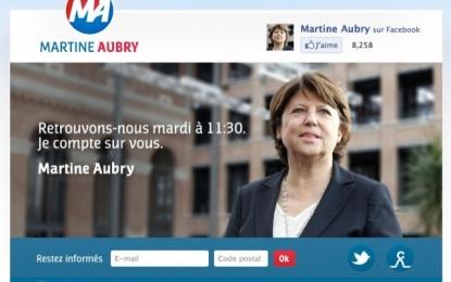 Logo Pepsi de Martine Aubry