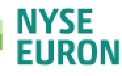 NYSE Euronext passe du bleu au vert