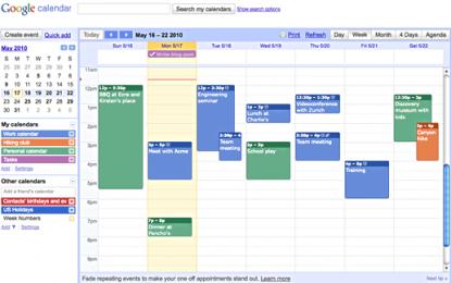 Emportez votre agenda partout avec Google Agenda